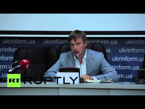 Ukraine: Grenade attack suspect's lawyer holds presser in Kiev