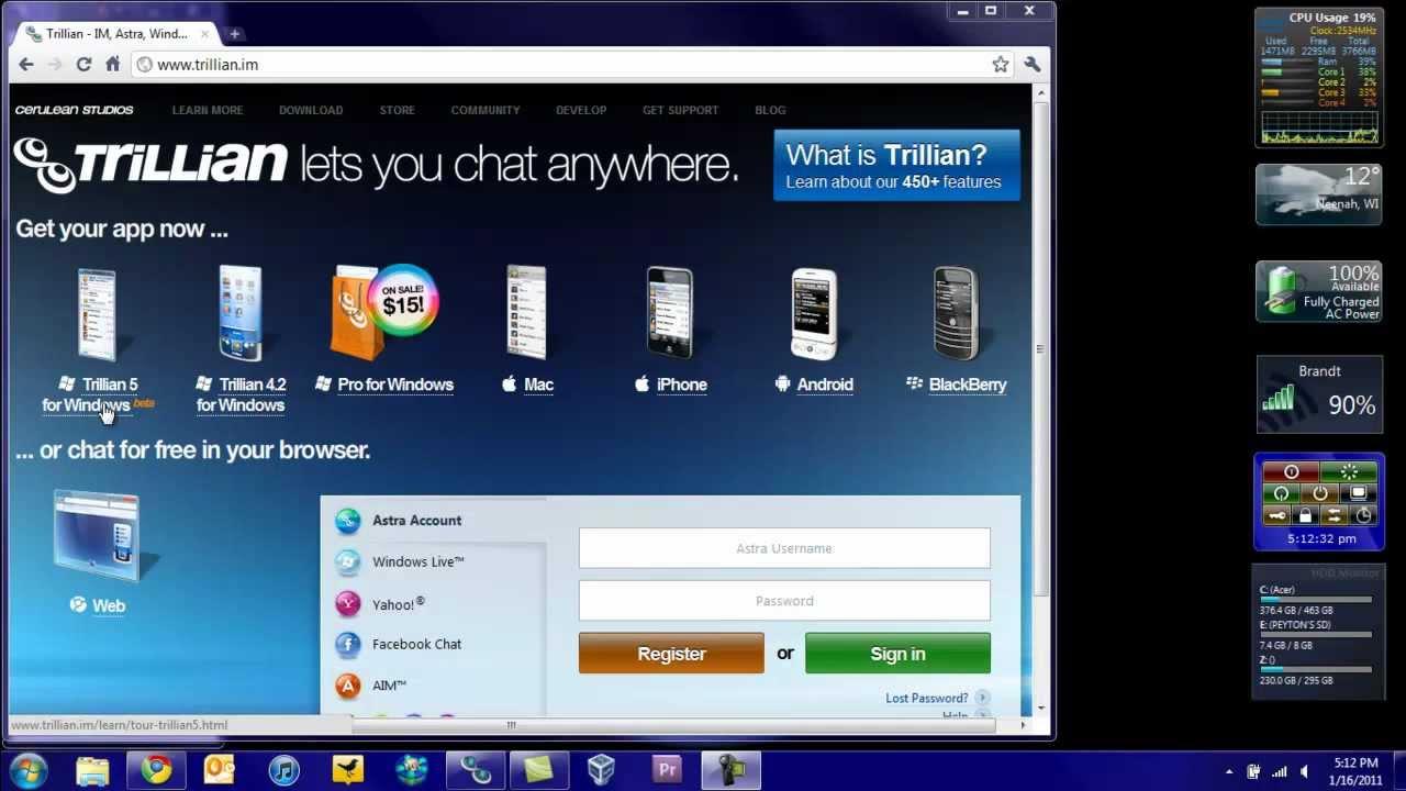 Trillian 5 Beta for Windows Review