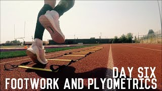 Footwork and Plyometrics Training | The Pre-Preseason Program | Day Six