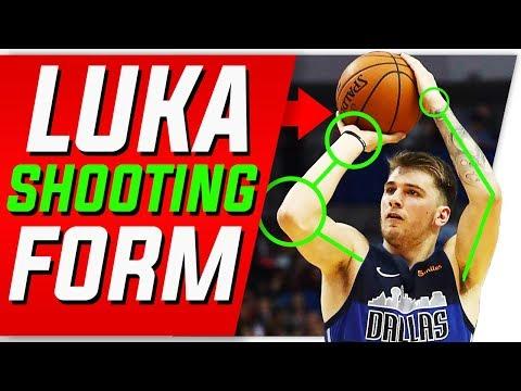 Luka Doncic Shooting Secrets | Shooting Form Breakdown
