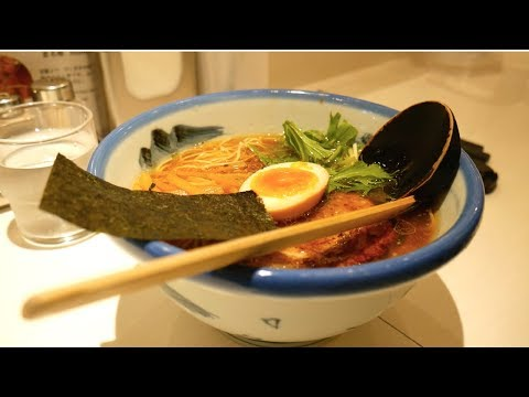 Amazing RAMEN & the world's RICHEST MATCHA ICE CREAM, Tokyo, Japan