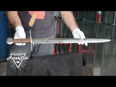 Making Classic Sword From 13th Century