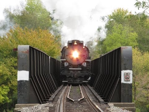 """""""Wabash Cannonball"""" Steam Train excursion - October 26, 2013."""