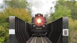 """Wabash Cannonball"" Steam Train excursion - October 26, 2013."