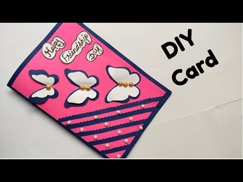 How to make Friendship Day card / DIY Friendship card/DIY card.