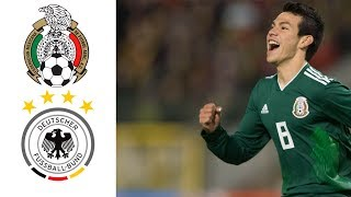 MÉXICO VS ALEMANIA COPA DEL MUNDO  RUSIA 2018  1-0 Goles