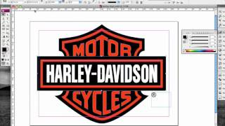 3D and Brushed Steel Harley Davidson Logo Part 1