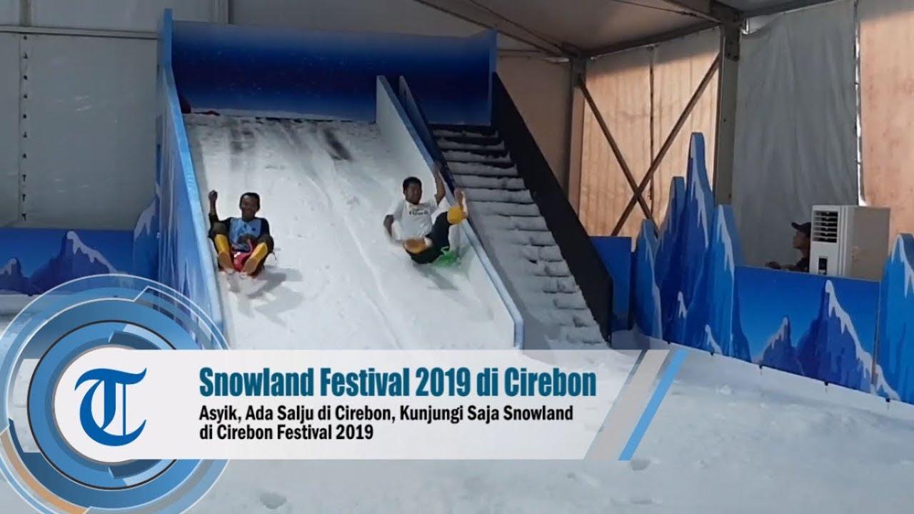 Video Asyik Ada Salju Di Cirebon Kunjungi Saja Snowland Di