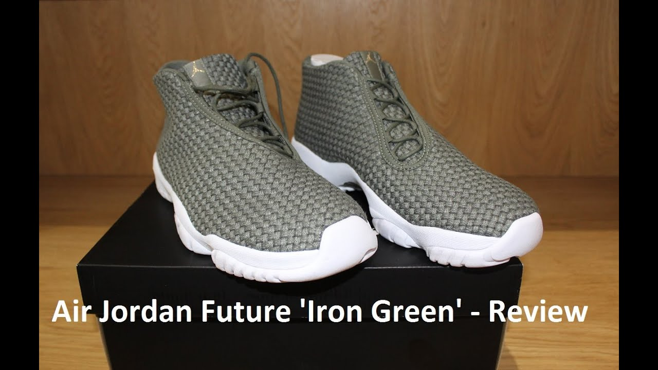best sneakers b3869 46f38 Air Jordan Future  Iron Green  - Review