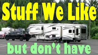 RV Wish List - Things to Get for RV - Full Time RV Lifestyle