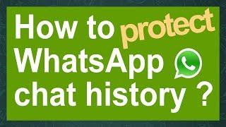 Old:How to hack WhatsApp chat history & how to protect it ! (crypt7 only)(This video i was created on 5 November 2014, that time WhatsApp was using crypt7, but after that Whatsapp released more than 10 updates, so now it may not ..., 2015-01-15T06:51:44.000Z)