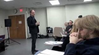 Masterclass Karlheinz Essl @ Wilfrid Laurier University