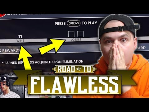 1 WIN FROM 12-0! Road to Flawless - MLB The Show 18 Diamond Dynasty