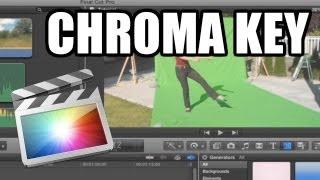 Final Cut Pro X - #24: Chroma Keying