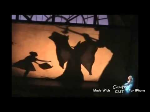 Wicked- Elphaba Melting scene- mmm watcha say