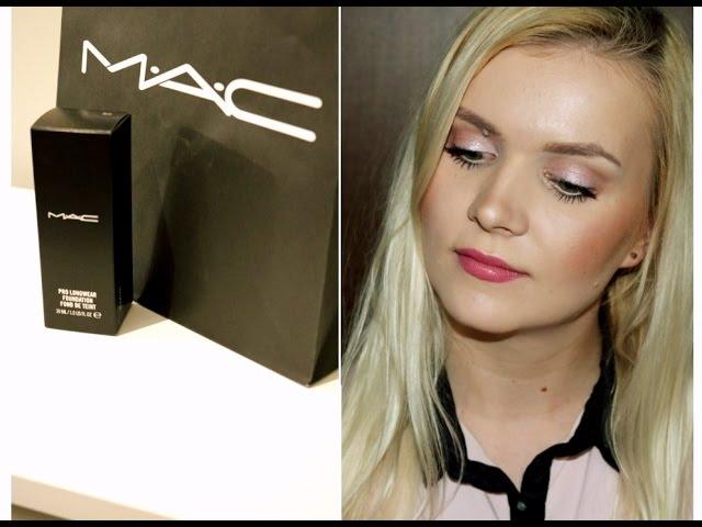 ** MAC pro longwear - test i recenzja** Ilona Lulu