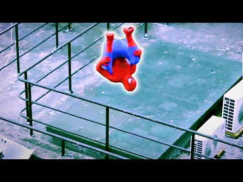 Thumbnail: Spider-Man Fights Crime in Real Life | Parkour, Flips & Kicks