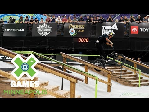 Chad Kerley wins BMX Street gold | X Games Minneapolis 2018 ...