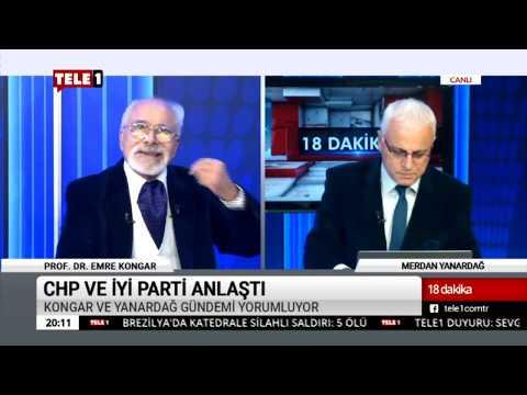 18 Dakika - (12 Aralık 2018) Merdan Yanardağ & Prof. Dr. Emre Kongar   Tele1 TV