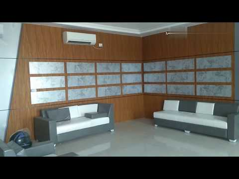 Pvc wall panel designs || Pvc laminate wall paneling idea 2019 by wood face