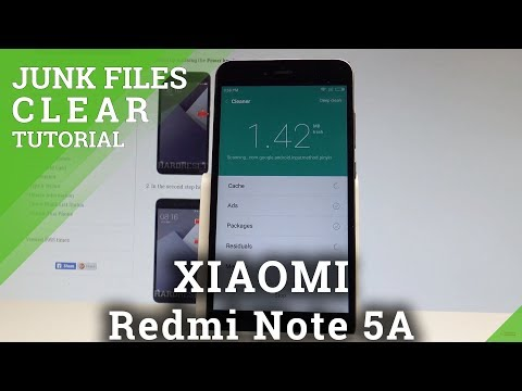 How to Clean Junk Files in XIAOMI Redmi Note 5A - Refresh MIUI |HardReset.Info