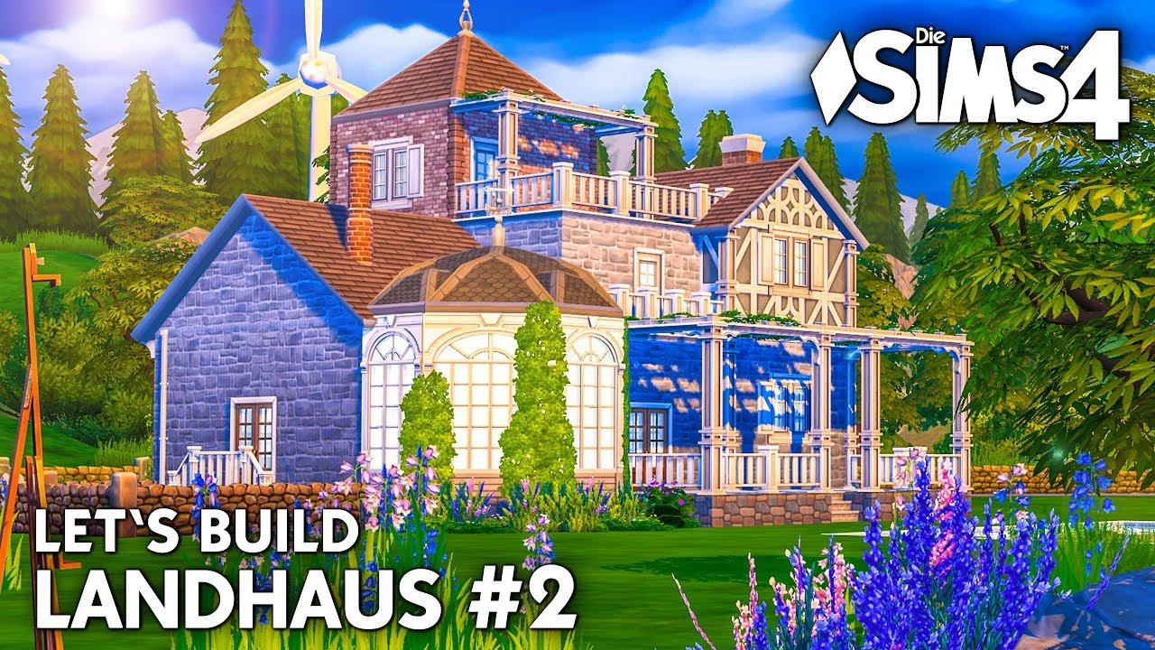 Die sims 4 haus bauen landhaus 2 grundriss deutsch for Landhaus bauen