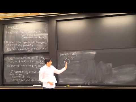 MIT 6.854 Spring 2016 Lecture 12: From Separation to Optimization and Back; Ellipsoid Method