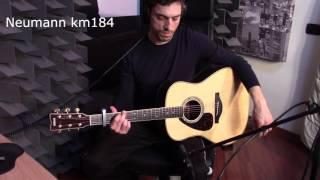 Audio Technica 4033a vs Shure ksm137 vs Neumann km184