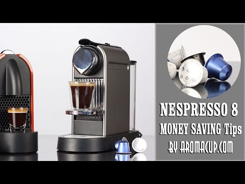 8 tips for saving money on nespresso capsules with and without coupons youtube. Black Bedroom Furniture Sets. Home Design Ideas