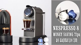 8 Tips For Saving Money on Nespresso Capsules (with and without Coupons)