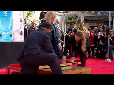 Kim Novak Grauman's Chinese Theater Handprint Ceremony