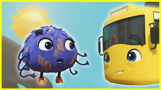 Itsy Bitsy Spider | Go Buster | Baby Cartoons | Kids Videos | ABCs and 123s