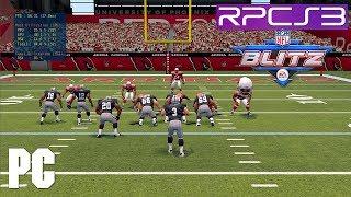 PS3 NFL Blitz 2012 on PC 4k IR 60fps RPCS3
