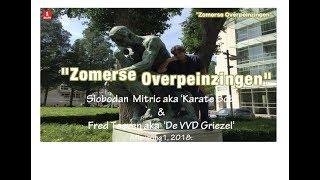 """""""Zomerse Overpeinzingen"""" van Steve Brown, Auguste Rodin (De Denker) & Criminals."""