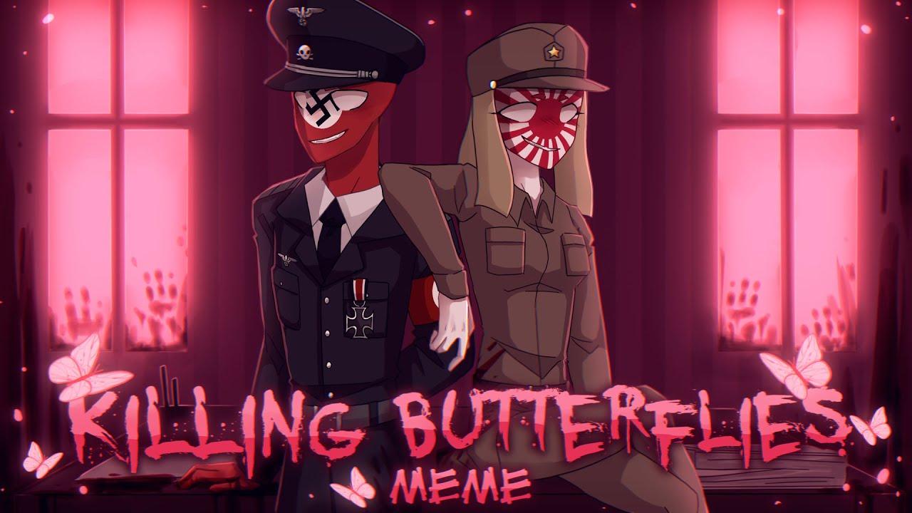 Killing Butterflies [CountryHumans|𝐀𝐔] РейхЯИ|ReichJE