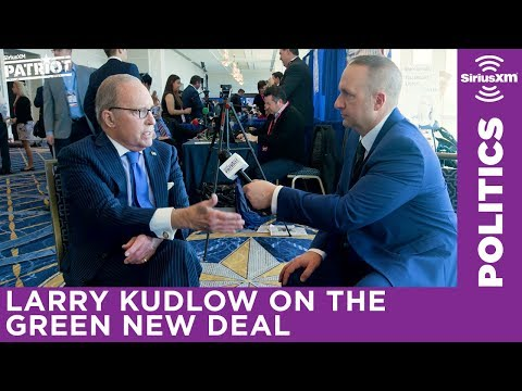 Larry Kudlow says the Green New Deal will destroy the American economy
