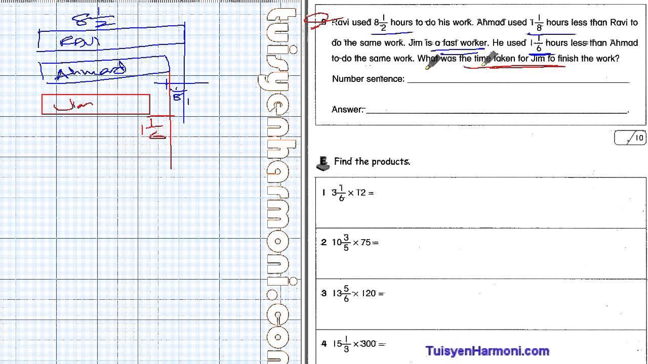 Contoh Soalan Matematik Darjah Empat Soalan Ai