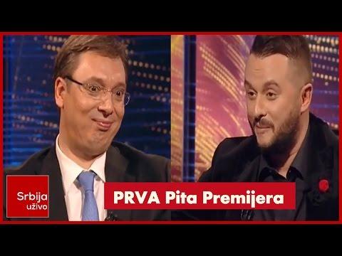Aleksandar Vucic i Ivan Ivanovic - PRVA PITA PREMIJERA