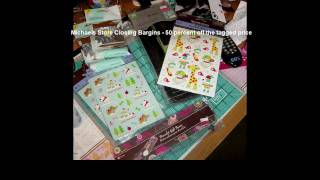 Michaels Scrapbook Haul - El Cajon CA Store Closing Sale