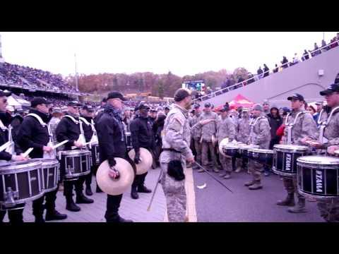 Air Force vs West Point Drum Battle 2014 OFFICIAL