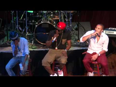 Whiz Kid and Banky W LIVE AT THE HOUSE OF BLUES IN HOUSTON, TEXAS 7-4-12 PT 4