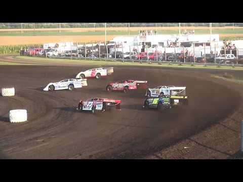 IMCA Late Model Heat Benton County Speedway 8/20/17