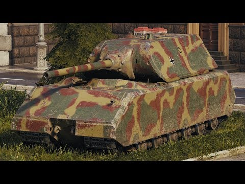 World of Tanks Maus - 5 Kills 10,6K Damage thumbnail