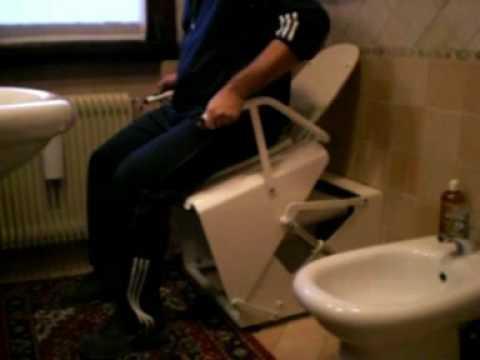 Sedili Wc Per Disabili : Awc alzata per il wc youtube