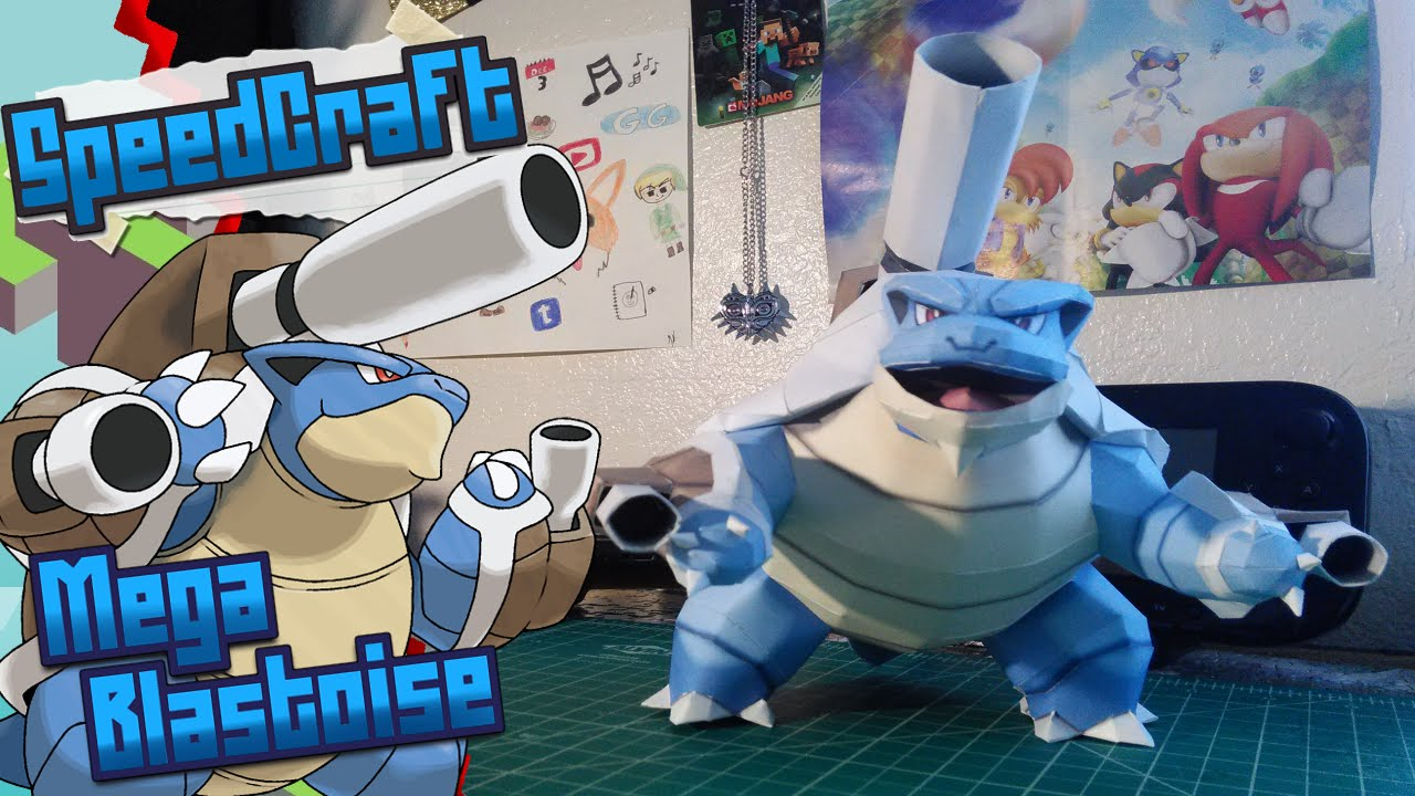 Papercraft Pokemon Papercraft ~ Mega Blastoise ~