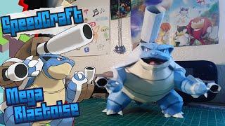 Pokemon Papercraft ~ Mega Blastoise ~