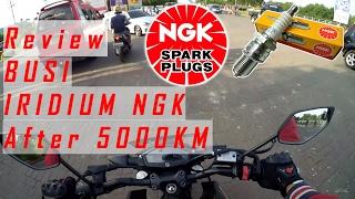 Pake Busi Iridium NGK, Apa yang terjadi setelah 5000 km? (2018)