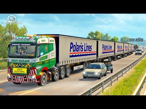 ROAD TRAIN LONG Trailer ETS2 (Euro Truck Simulator 2)