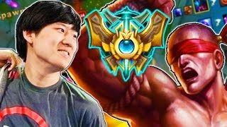 RUSH, THE BEST LEE SIN IN THE WORLD (Korean Challenger) - League of Legends