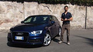 Audi A3 Sportback g-tron DSG (automatica) | Tutto il bello di guidare a metano